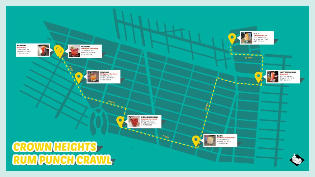 Crown Heights Rum Punch Crawl