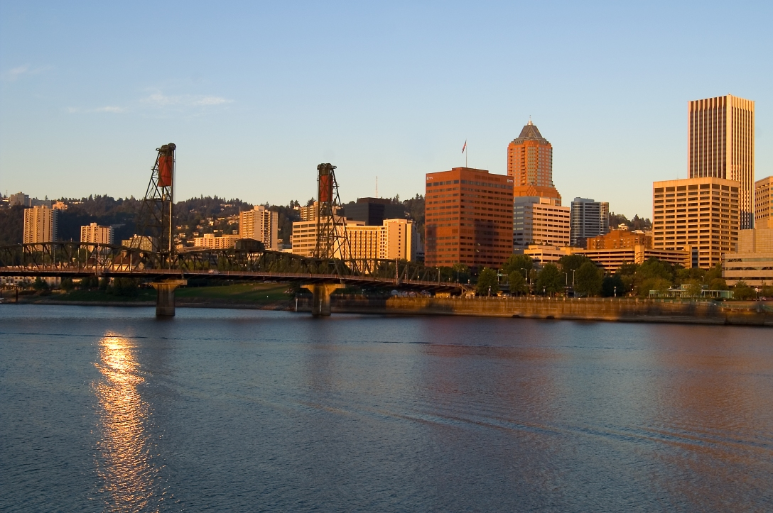 Portland Oregon at Dawn
