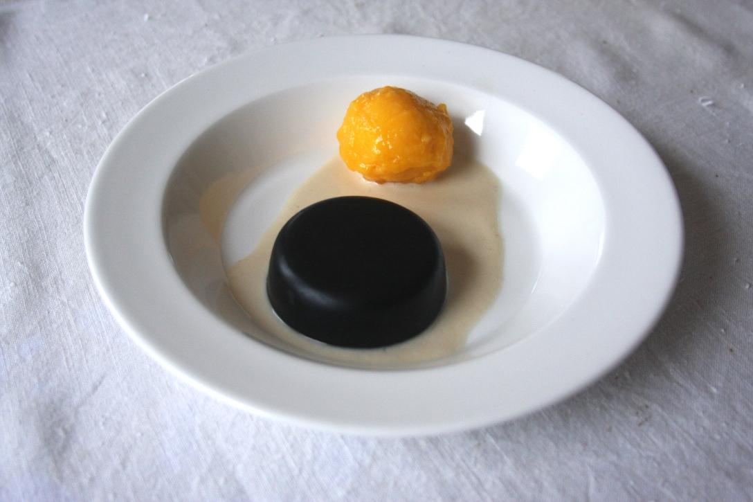 Black Sesame Flan and Mango Sorbet-Salimatu_Amabebe