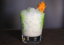 A Green and White Cocktail for the First Nigerian Bobsled Team